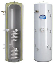 solar thermal cylinder